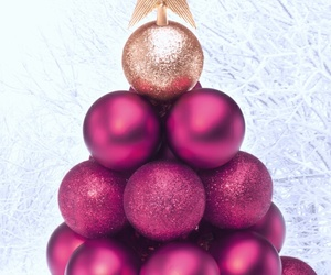 background, beautiful, and christmas tree image