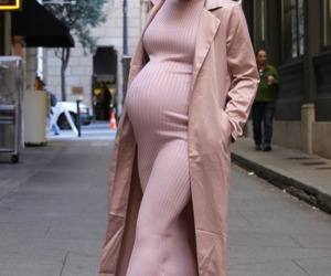 pink, pregnant, and pregnancy image