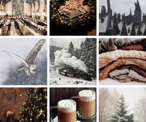 christmas, december, and harry potter image