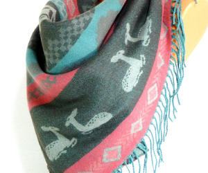 etsy, double sided, and blanket scarf image