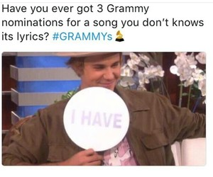 grammys, legend, and belieber image