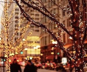 christmas, lights, and header image