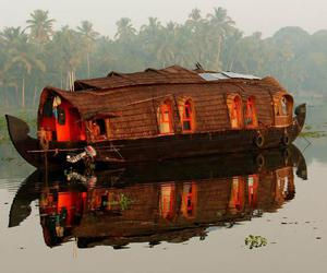 boat, house, and houseboat image