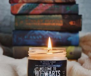 book, cozy, and harry potter image