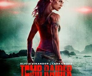 badass, lara croft, and movie image