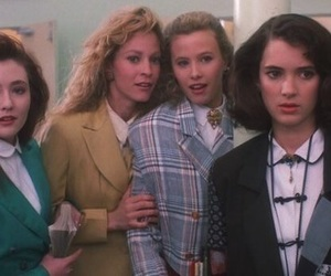 Heathers, winona ryder, and movie image