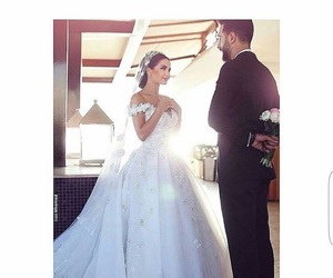bride, dress, and goals image