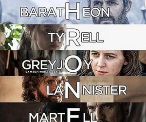 tyrell, martell, and baratheon image