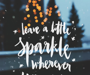 christmas, sparkle, and wallpaper image