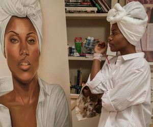 black women, african american women, and melanin image
