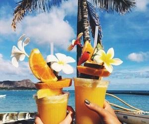 amazing, beach, and drinks image