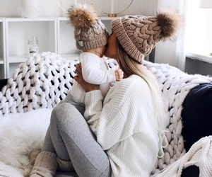 style, winter style, and baby image