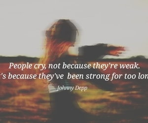 cry, girl, and pain image