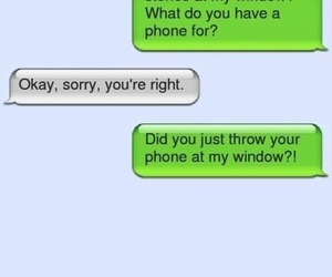 funny, phone, and texts image