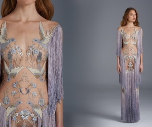 long dresses, haute couture gowns, and paulo sebastian 2018 image
