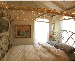 bedroom, christmas, and decorations image