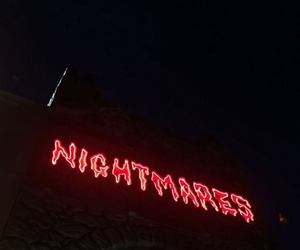 red, nightmare, and aesthetic image