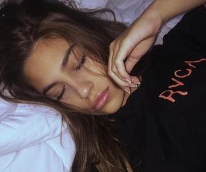 girl, sleep, and beauty image