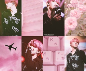 aesthetic, pink, and kpop image