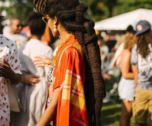 dreads and natural hair image