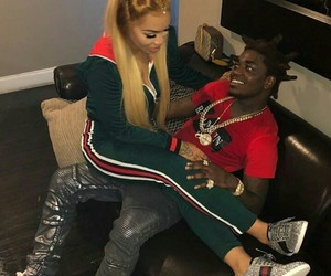 cute, kodak black, and cuban doll image