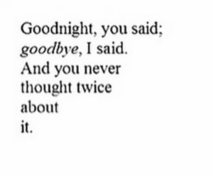 goodbye, goodnight, and never image