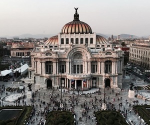 city, bellas artes, and palace image