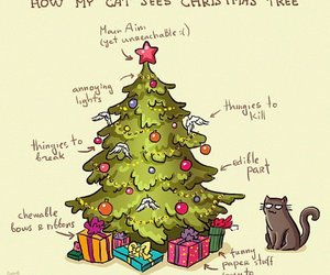 cat toy, cats, and christmas image