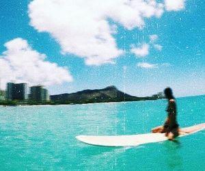 beach, hawaii, and mermaid image