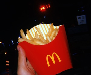 fries, huji, and mcdo image