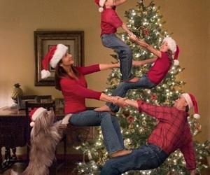 christmas, family, and funny image