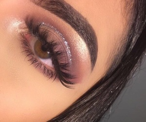 beauty, lashes, and sparkle image