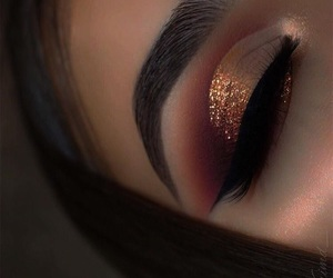 beauty, eye shadow, and make up image