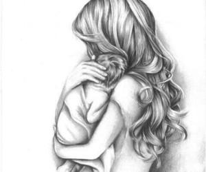 art, baby, and mummy image