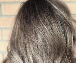 hair-color, hair color trends, and grey ombre image