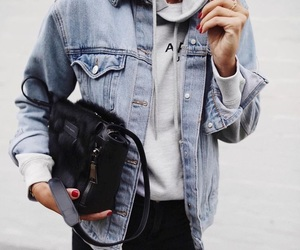 follow, love, and denim image