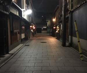 dark, japan, and kyoto image