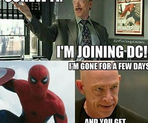 funny, spiderman, and Marvel image