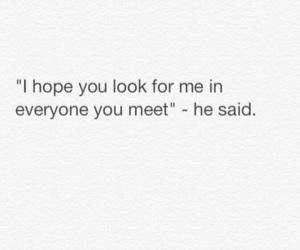 hope, look, and meet image