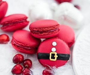 christmas, food, and red image
