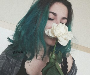 aesthetic, alternative, and flower image