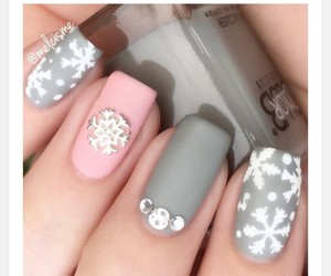 grey, ideas, and nails image