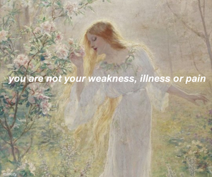 illness, pain, and weakness image