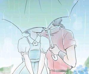 ranma, akane, and anime image