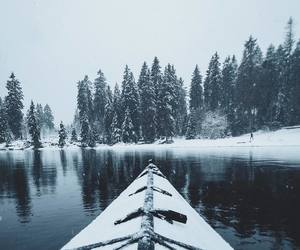 adventure, boat, and christmas image