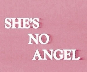 pink, angel, and quotes image
