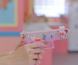accessories, kawaii, and gun image