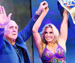 wrestling, wwe, and charlotte flair image