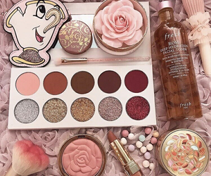 beauty and the beast, blush, and brush image