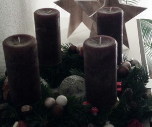 advent, kerzen, and weihnachten image